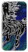 Fire Horse Burn 3 IPhone Case