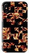 Fire Jumble IPhone Case