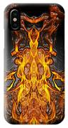 Fire Leather IPhone Case