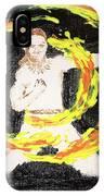 Fire Man IPhone Case