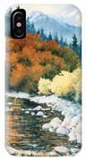 Fire River IPhone Case
