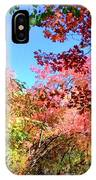 Fire Top Trees IPhone Case