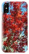 Fire Tree I IPhone Case