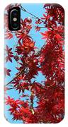 Fire Tree II IPhone Case