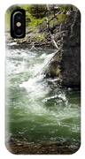 Firehole Canyon 1 IPhone Case