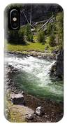 Firehole Canyon 2 IPhone Case