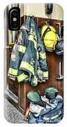 Fireman - Always Ready IPhone Case