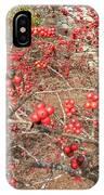 Firethorn Bushes IPhone Case