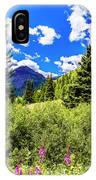 Fireweed, Deer Park Creek, Grand Turk Mountain IPhone Case