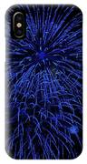 Firework Blues IPhone Case