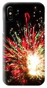 Firework Christmas Sparkle IPhone Case