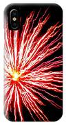 Firework Spider Mum IPhone Case