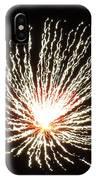 Firework White Fluff IPhone Case