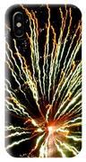 Firework Yellow Tip IPhone Case
