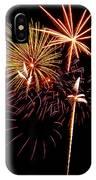 Fireworks 1 IPhone Case