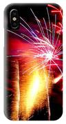 Fireworks Abstract #8 IPhone Case