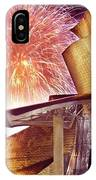 Fireworks At Guggenheim IPhone Case