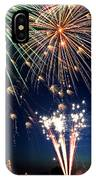 Fireworks At Maple Creek IPhone Case