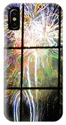 Fireworks By Dali IPhone Case