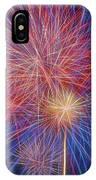 Fireworks Celebration Glow Square IPhone Case