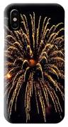 Fireworks - Gold Dust IPhone Case