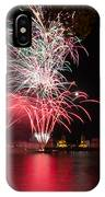 Fireworks In Greenwich  IPhone X Case