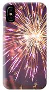 Fireworks In The Park 2 IPhone Case