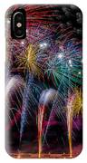 Fireworks Line IPhone Case