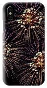 Fireworks - Purple Power IPhone Case
