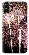 Fireworks Spectacular IPhone Case