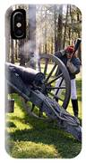 Firing The Cannon IPhone Case