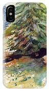 Firs On The Hill IPhone Case