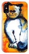 First Cat IPhone Case