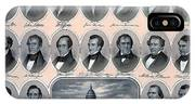 First Hundred Years Of American Presidents IPhone Case
