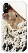 First Snowfall IPhone Case