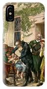 First Vaccination, 1796 IPhone Case
