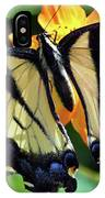 Fish Eye Butterfly IPhone Case