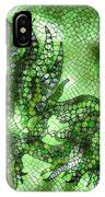 Fish In Green Mosaic 2 IPhone Case