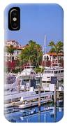 Fisher Island Miami Private Marina IPhone Case