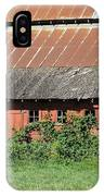 Fisher Road Barn 3 Photograph IPhone Case
