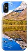 Fishercap Blue Reflections IPhone Case