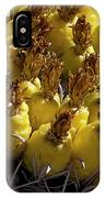 Fishhook Barrel Cactus Fruit IPhone Case