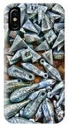 Fishing - Box Of Sinkers IPhone Case