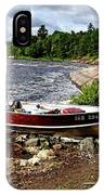 Fishing And Exploring IPhone Case