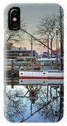 Fishing Boat At Newburyport IPhone Case
