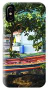 Fishing Boat At Rest  IPhone Case