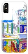 Fishing Boats 2 IPhone Case