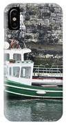 Fishing Boats Clarnlough Northern Ireland IPhone Case