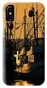 Fishing Boats Sunset Light IPhone Case