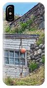 Fishing Huts Cape Cornwall IPhone Case